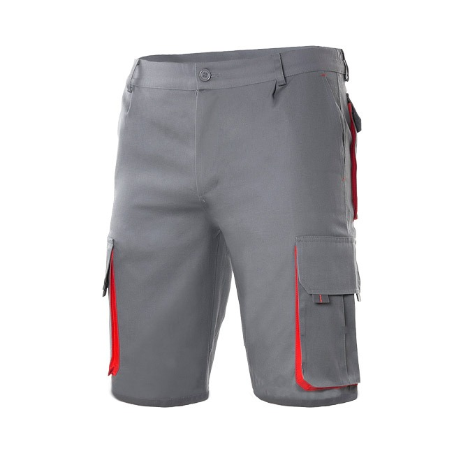 Bermuda bicolor 103007 velilla_gris/rojo